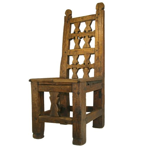Antique Low Chair AZIZ0214-1023-8