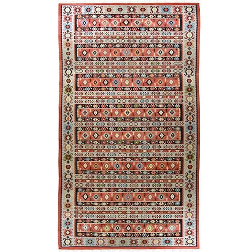 Semi-Antique Turkish Kilim GUL0413-1-201382