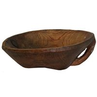 Hand-carved Wood Bowl YIL0815-1012-11