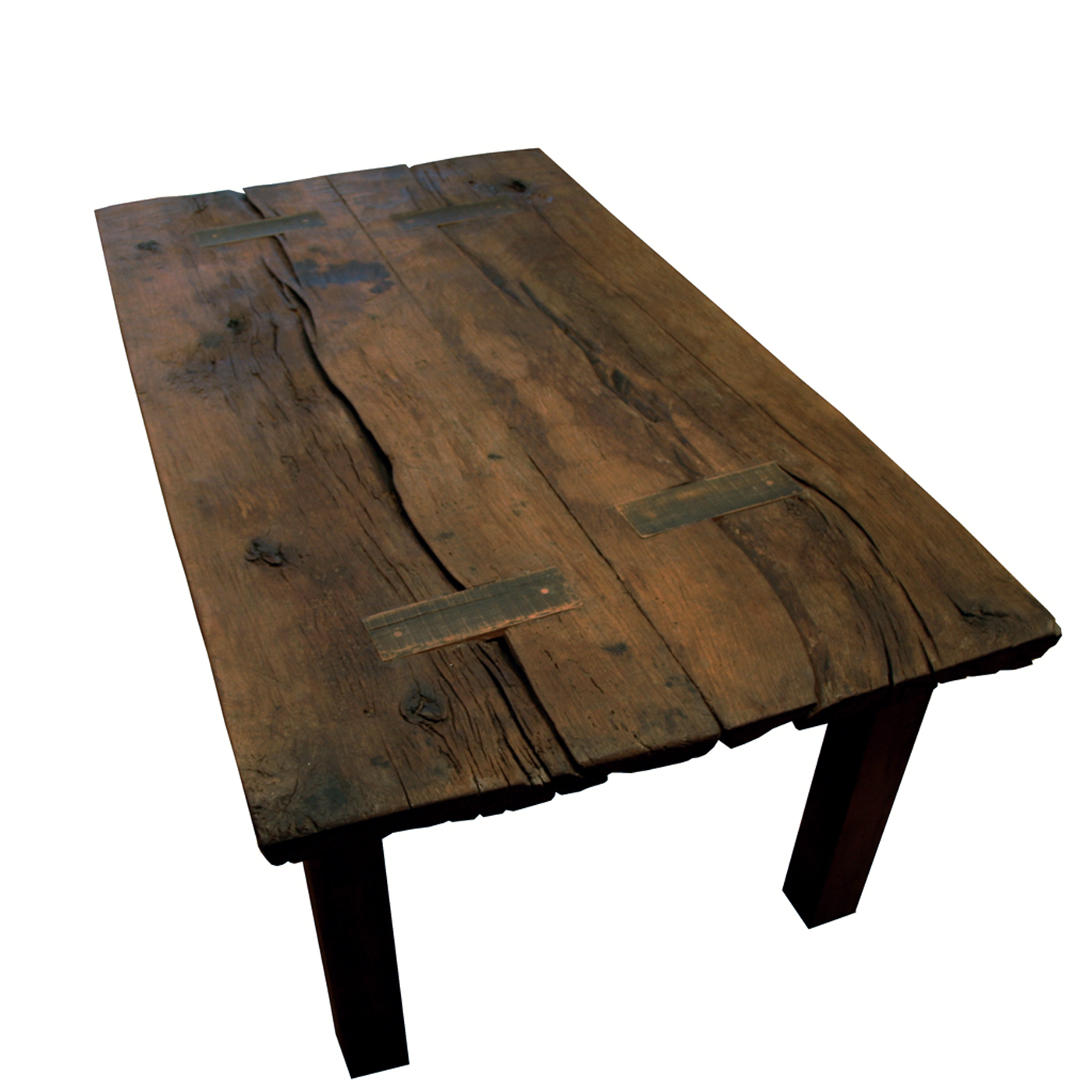 200 Year Old Reclaimed Oak Dining Table