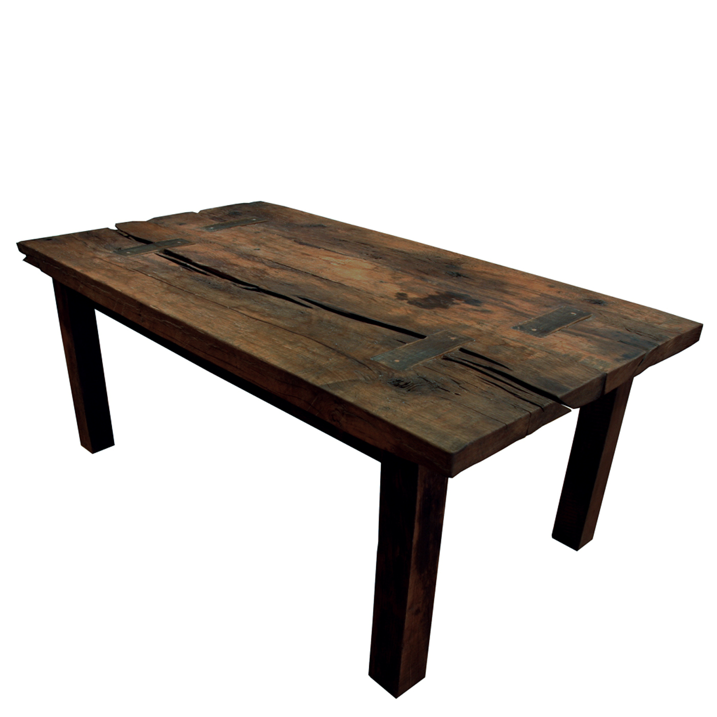 200 Year Old Reclaimed Oak Dining Table YIL1111 Ftable