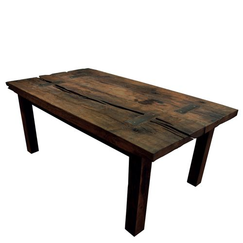 200+ year-old Reclaimed Oak Dining Table | YIL1111-1008-Ftable