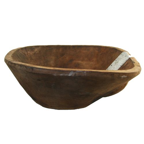 Vintage Wood Basin | Bowl YIL1212-1054-8