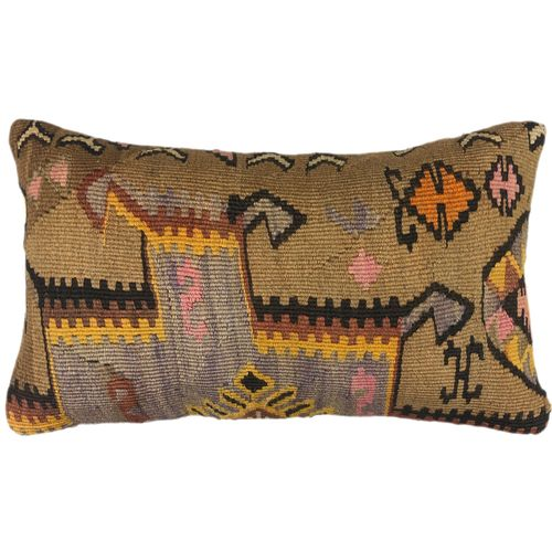 Kilim Lumbar Pillow Cover NIH0418-KP5-88