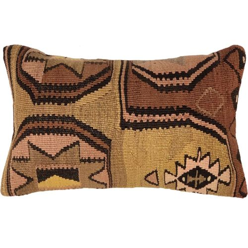 "Kilim Lumbar Pillow Cover | 12"" x 20"