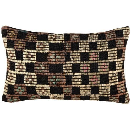 "Kilim Lumbar Pillow Cover | 12"" x 20"""